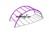 ИО 08161 Лаз Переход фиолетовый