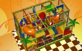 Детский игровой лабиринт Pool