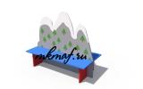 ДХО 07010 Скамейка Альпийская горка