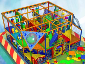 Детский игровой лабиринт Interion