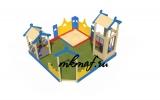 ИО 03150 Песочный дворик в гостях у Зайки