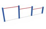СОВ 04351 Кроссфит Турник трехуровневый для отжиманий