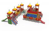 ДИО 13052 Детский игровой комплекс Дворец чудес 2 Н-750,Н-900,Н-1500 (мет.скат) и Н-2000 (винтовой скат)