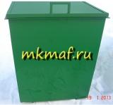 Контейнер для мусора квадратный с крышкой