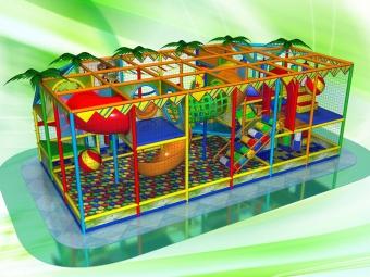 Детский игровой лабиринт Madagaskar